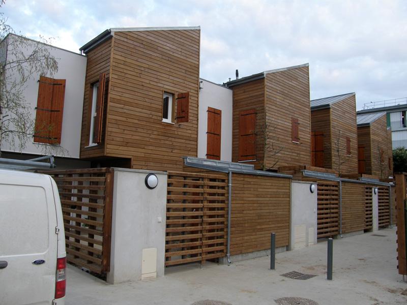 Maisons et bureaux en ossature et bardage bois